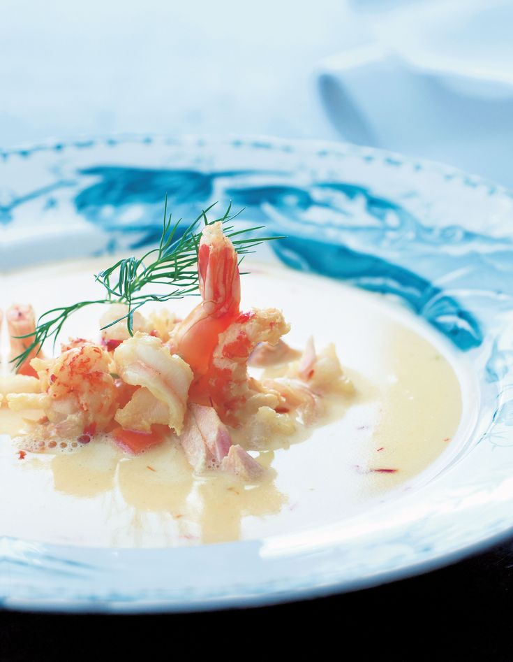 Skagen fish soup recipe from The Scandinavian Cookbook by Trine Hahnemann | Cooked