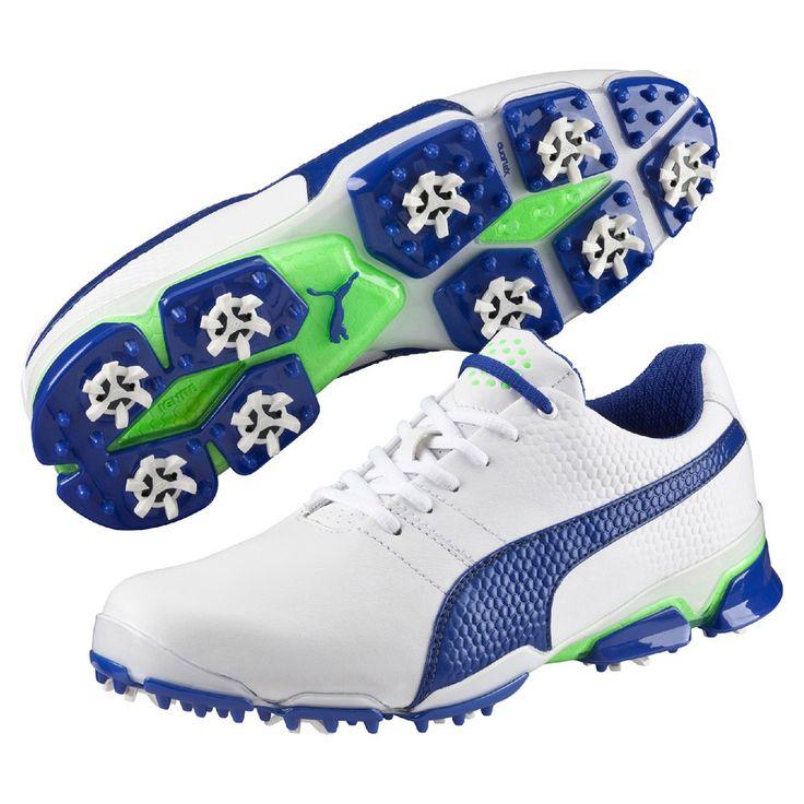 Chaussures de golf homme Puma - Titantour Ignite Bleu/Blanc - taille 39 à 46 selon disponibilités