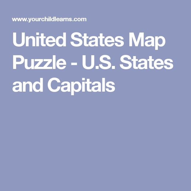 The Best United States Map Ideas On Pinterest Map Of Usa - Us map with capitals and states