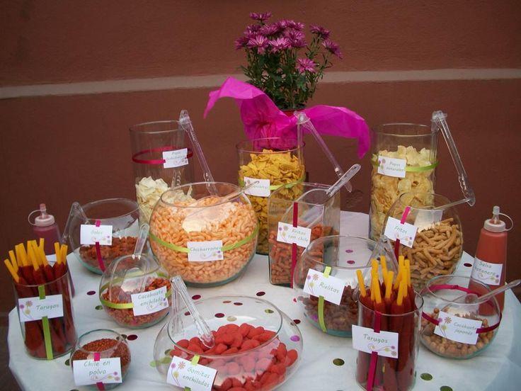 mesa de botanas fiestas infantiles pinterest