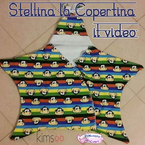 Come cucire sacco nanna a forma di stella – Video Tutorial