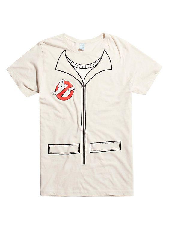 Ghostbusters Uniform Cosplay T-Shirt, MULTI