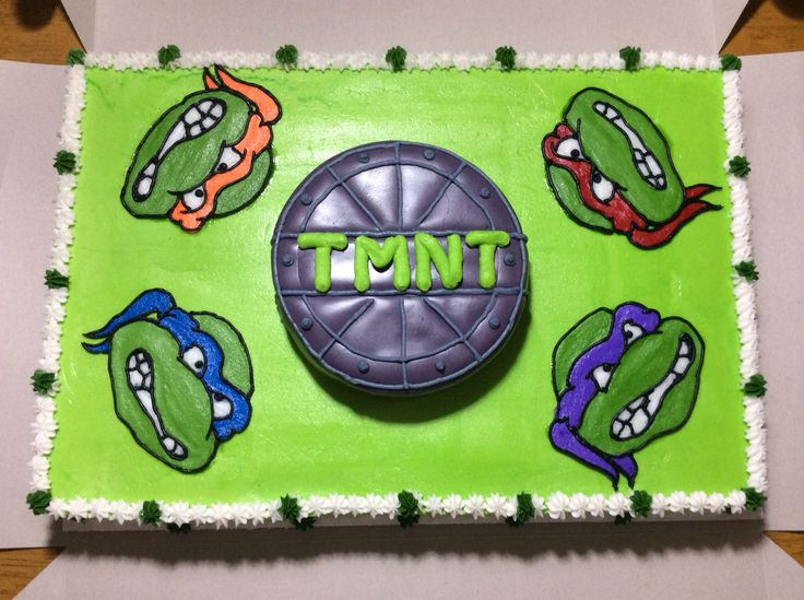 Pictures Ninja Turtles Cakes