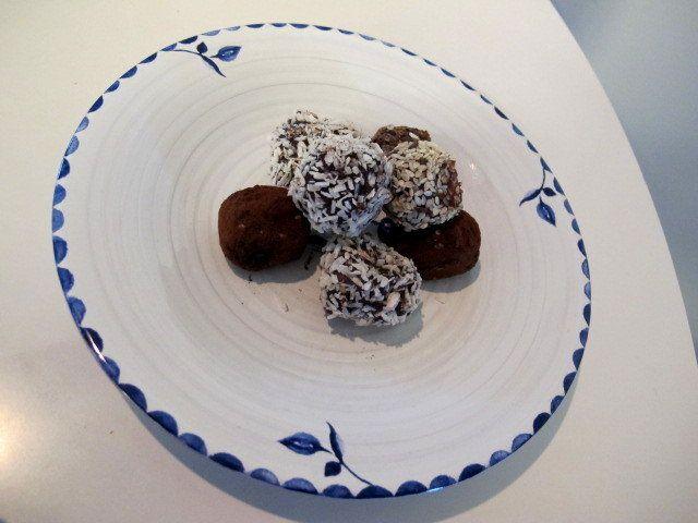 Recept - Raw food bollar!