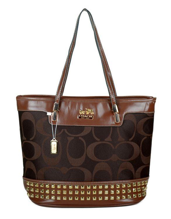 2017 new Coach Signature Chocolate Poppy Handbag on sale online,save up to 90% off dokuz limited offer,no tax and free shipping.#handbag #design #totebag #fashionbag #shoppingbag #womenbag #womensfashion #luxurydesign #luxurybag #coach #handbagsale #coachhandbags #totebag #coachbag