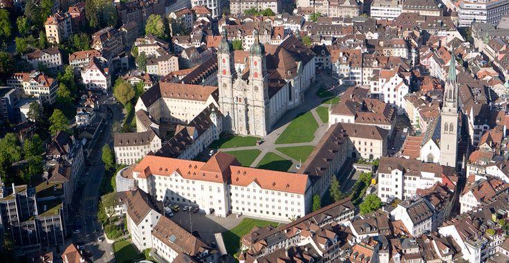 Abbey Precincts - St.Gallen-Bodensee Tourism - Abbey Precincts - UNESCO & Culture