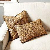 Cheetah Hair-on-Hide Pillow Cover