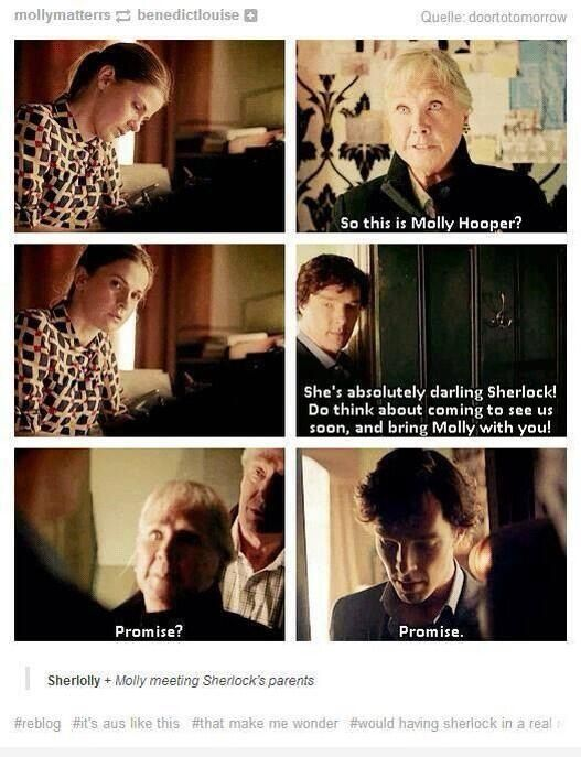sherlock and moriarty meet the parents