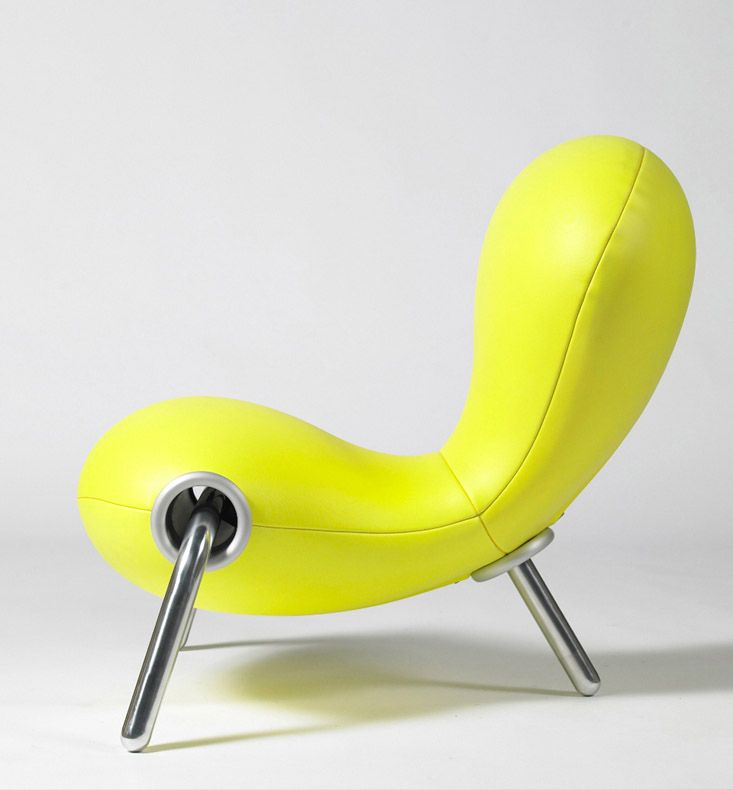Marc Newson Ltd | Embryo Chair | 1988 | http://www.marc-newson.com
