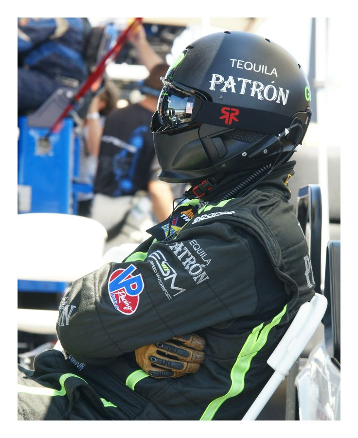 Who doesn't like Patron Tequila?  Taken in pits at Watkins Glen.  Photo by Jerry Hankins