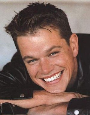 Matt Damon: he's handsome, talented, and dedicated to supporting many charitable causes...how attractive is that?!