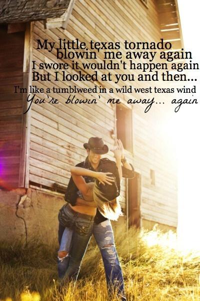 - Texas Tornado, Tracy Lawrence <3