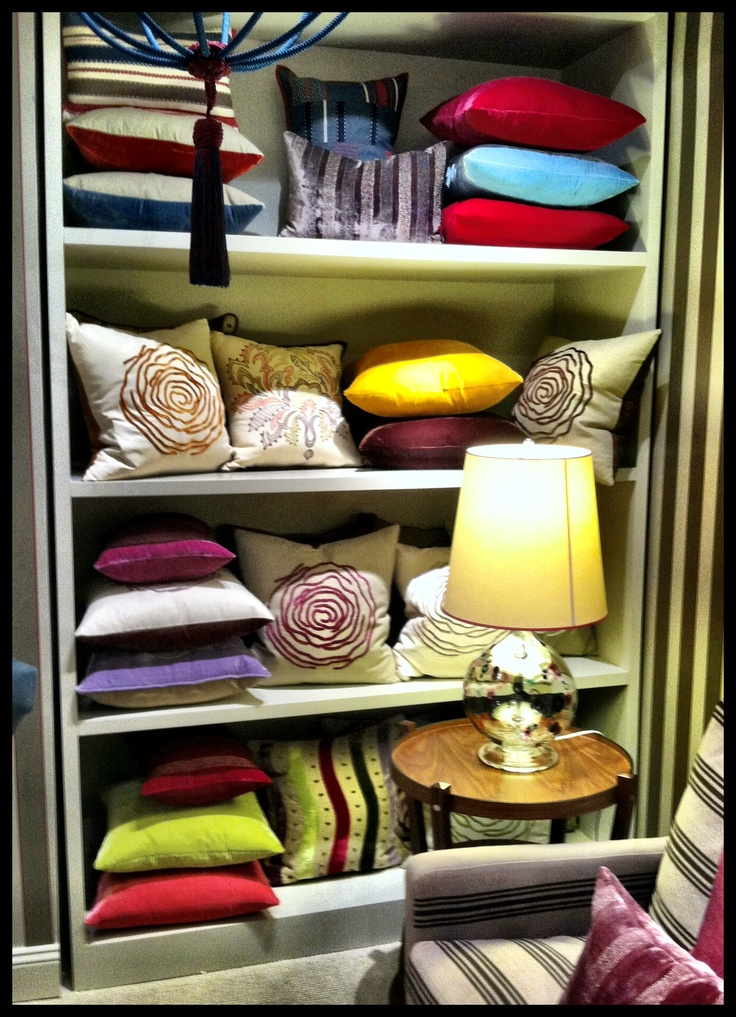 Beautiful Cushions from William Yeoward at NYDC