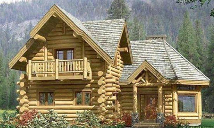 imagenes de cabañas de madera descarar