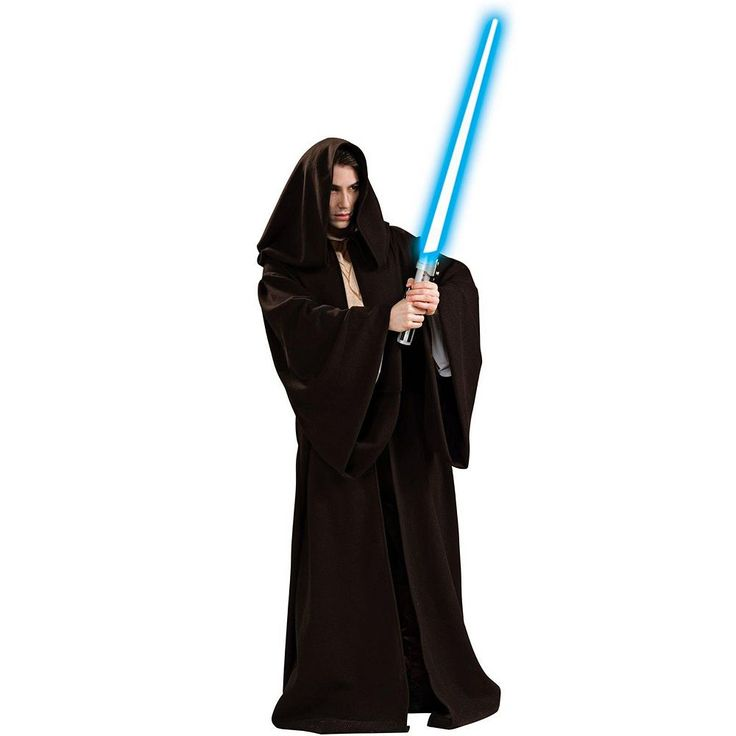 Star Wars Super Deluxe Jedi Robe Costume - Adult, Men's, Brown