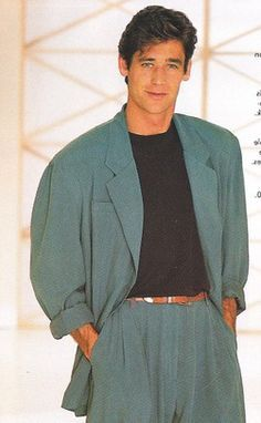 80s Men Fashion