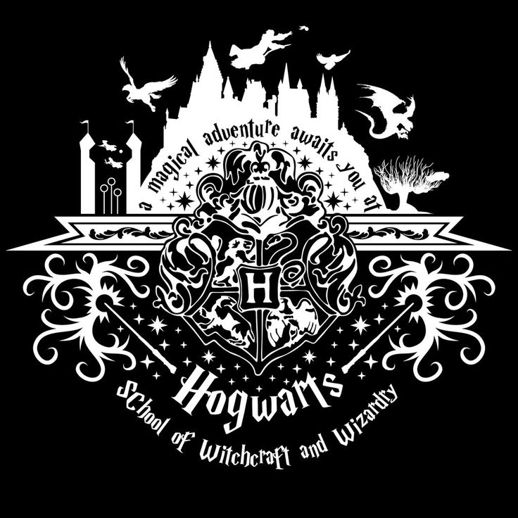 Welcome to Hogwarts (white) by johnnygreek989.deviantart.com on @DeviantArt