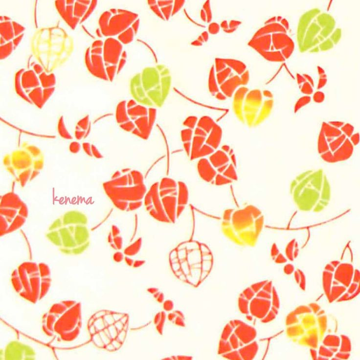"8 Likes, 1 Comments - 宮本株式会社 MIYAMOTO Co., Ltd. (@jikan_style) on Instagram: ""手ぬぐい「鬼灯」 赤い実を、ふくんで鳴らせば、茜空にアキアカネ。色づく萼に、郷愁の灯が燈る。何故か懐かしい気持ちになる花。 #鬼灯 #ほおずき #提灯 #気音間 #JikanStyle…"""