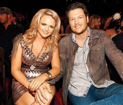 """I asked Blake, Dude, why didnt you tell me I got fat? He said, That would go over like a lead balloon. Its not my job to tell you you're fat. Its my job to tell you you're beautiful."" -Miranda Lambert    LOVE these two :)"
