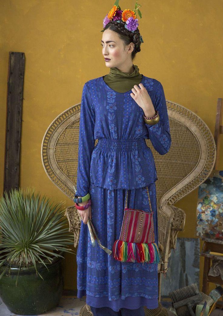 Inspiration Frida Kahlo – Gudrun Sjödén – Swedish design with a green soul / online