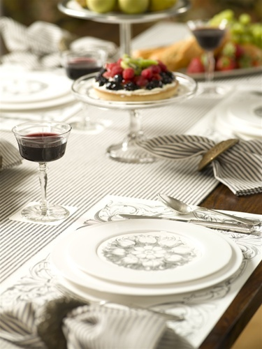 Italian Scroll Placemat Pad By Cake Love These The Is Paper As Well Plate Round