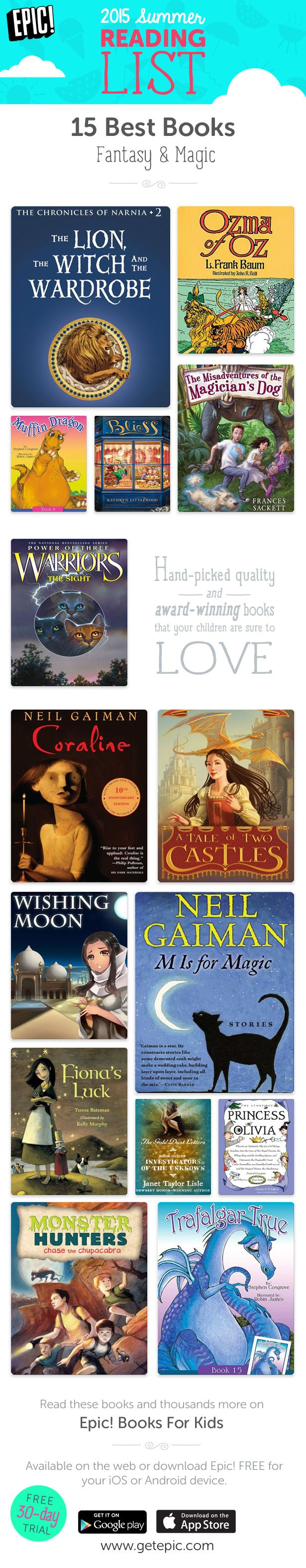 Check Out 15 Of Our Favorite Summer Reading Books In The Fantasy And Magic  Genre!