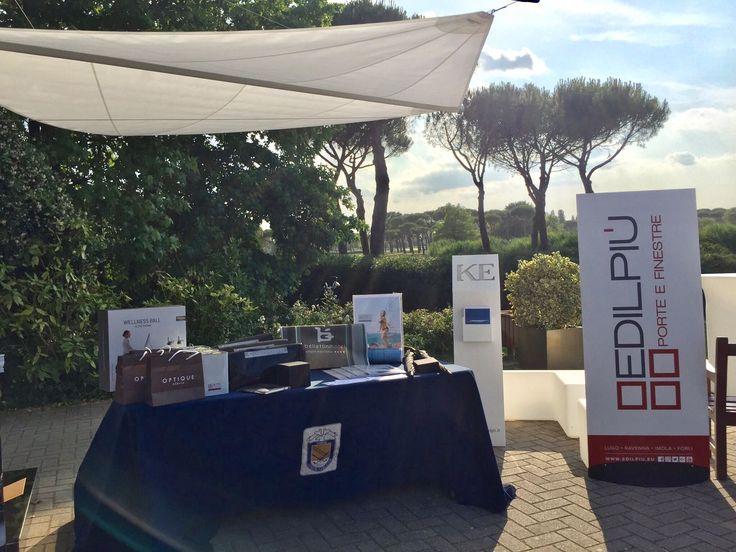 Edilpiù - Porte e finestre | Postazione Edilpiù all'Adriatic Golf Club di Cervia - Edilpiù - Porte e finestre