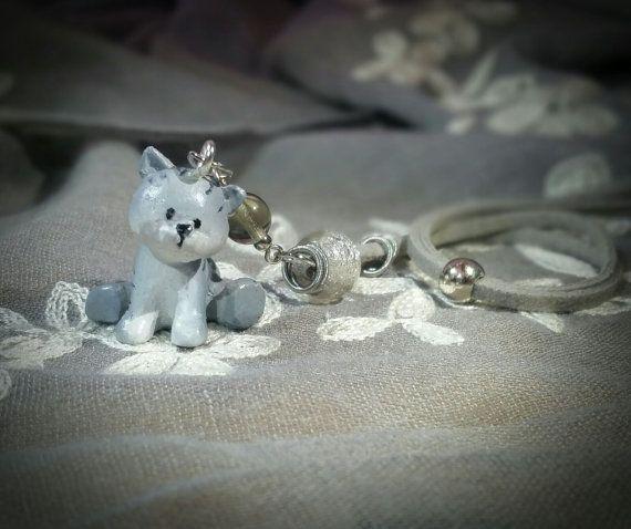 Collana con gatto MEMI di QueQuo su Etsy