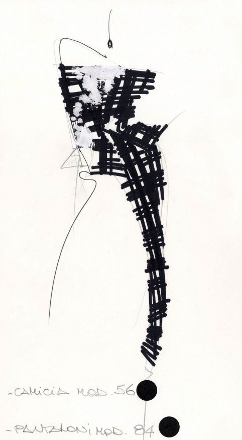 Gianfranco Ferré, Couture, Spring-summer 1988 © Fondazione Gianfranco Ferré