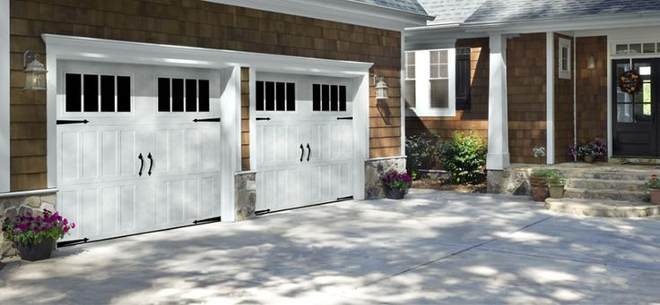 Amarr Carriage Garage Door  Classica Collection® offers authentic carriage house garage door style in durable, low-maintenance