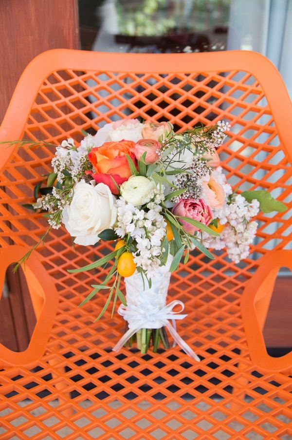 Handmade citrus themed wedding | Peterson Design + Photography on @glamourandgrace via @aislesociety