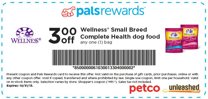 photo about Petco Coupon Printable identify Petco natural and organic equilibrium printable coupon - Initially solution