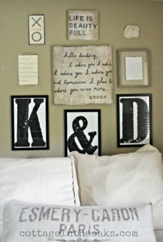 Best 25 Framed Letters Ideas On Pinterest Name In Nursery Last Name Decor And Wall Initials