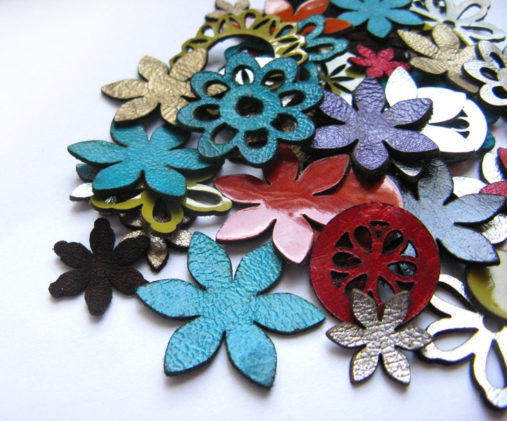 169 best images about laser cutting project ideas on for Leather flowers for crafts