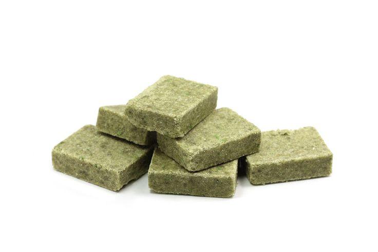 Eigen+groentebouillonblokjes