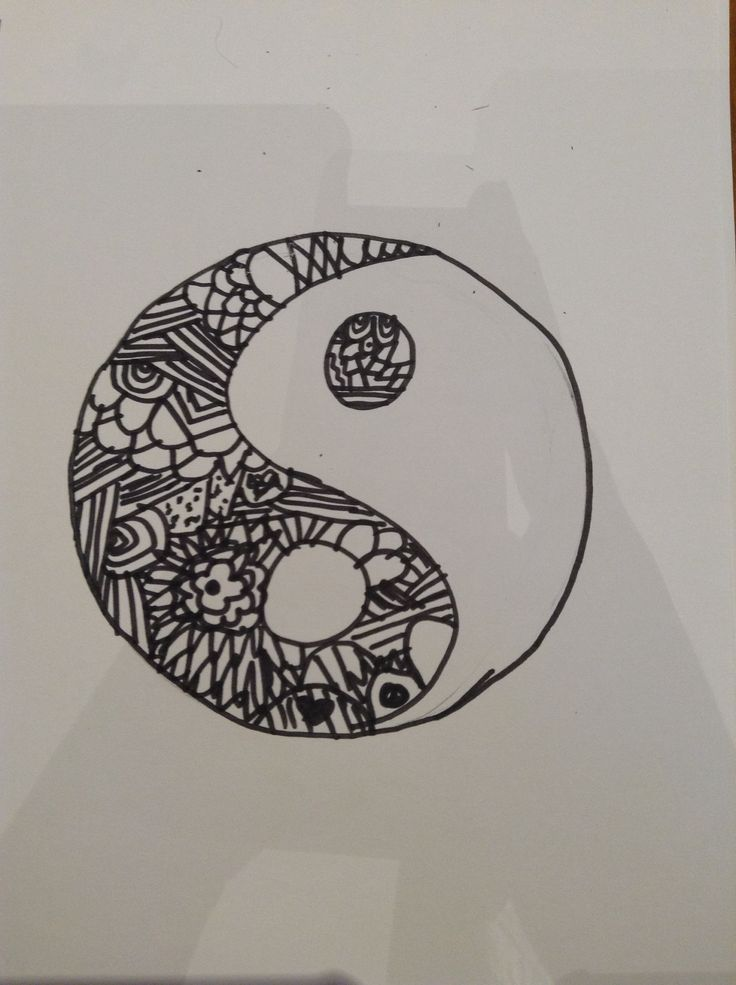 Yin and Yen, with patterns in it!
