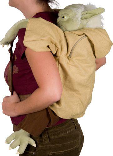 Plush Yoda Star Wars Back Pack