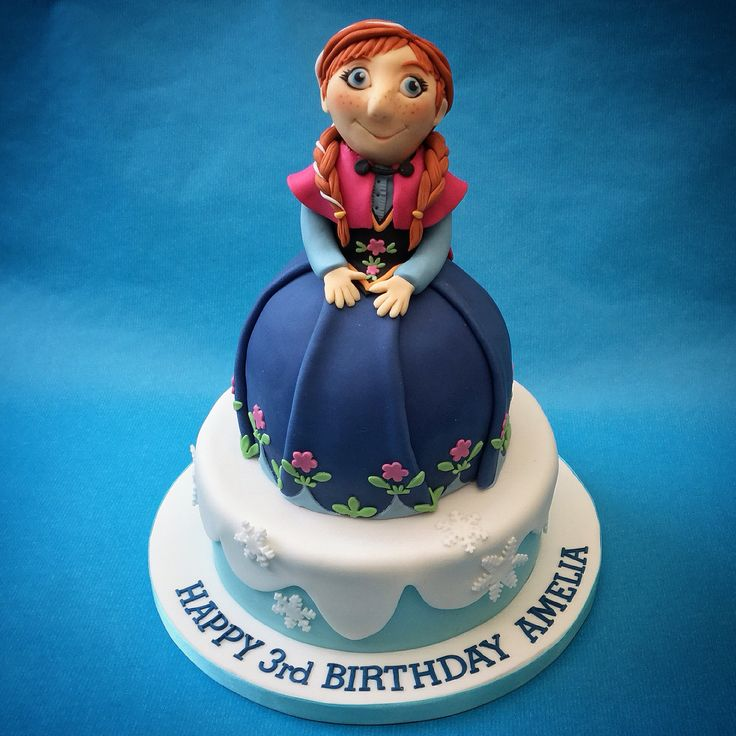 Frozen, Anna for a change and all edible