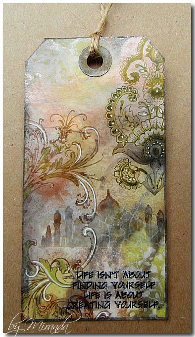 'Mir'acle Art Inspirations: Ranger meets Chocolate Baroque and Impression Obsession......