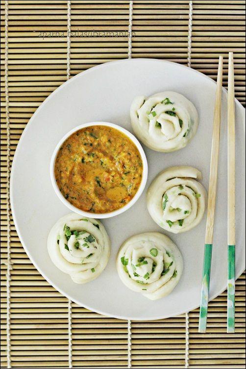 Tingmos/ Tingmomos - Fuffy and Soft Tibetan Steamed Yeasted Bread