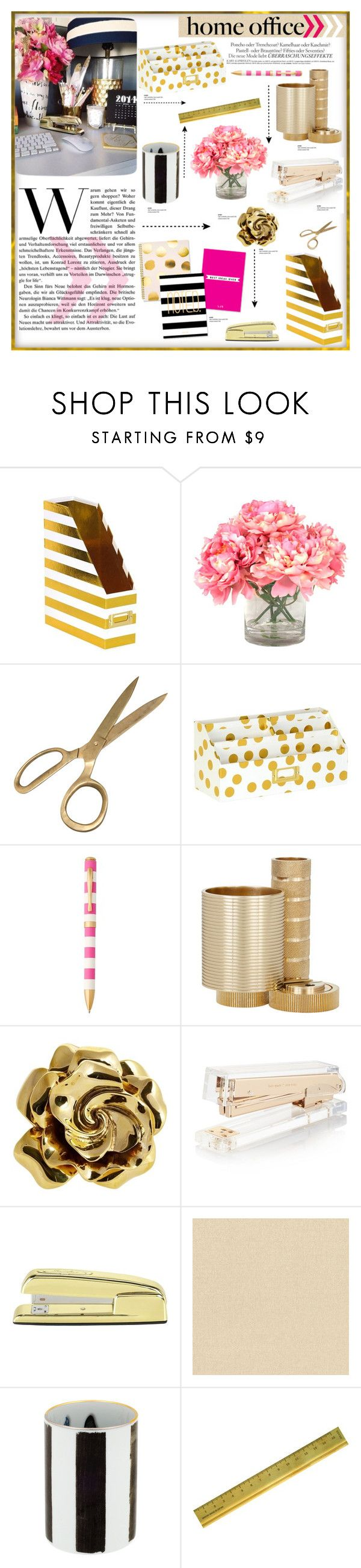 """Chic Home Office"" by carlavogel on Polyvore"
