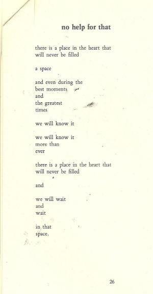 No Help For That | Charles Bukowski by susanna