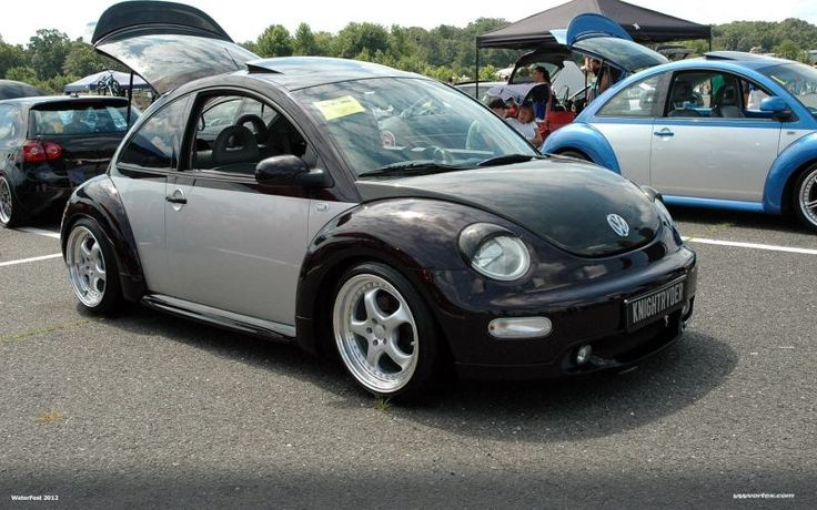 VWVortex.com - Has anyone ever seen a New beetle painted Two Tone like the classics?