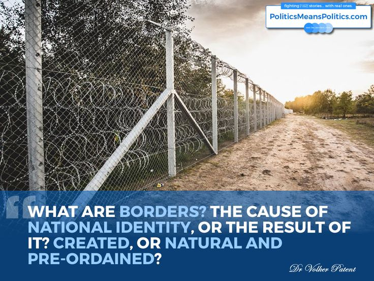 """What are borders?"" by Dr Volker Patent @OUFreeLearning 