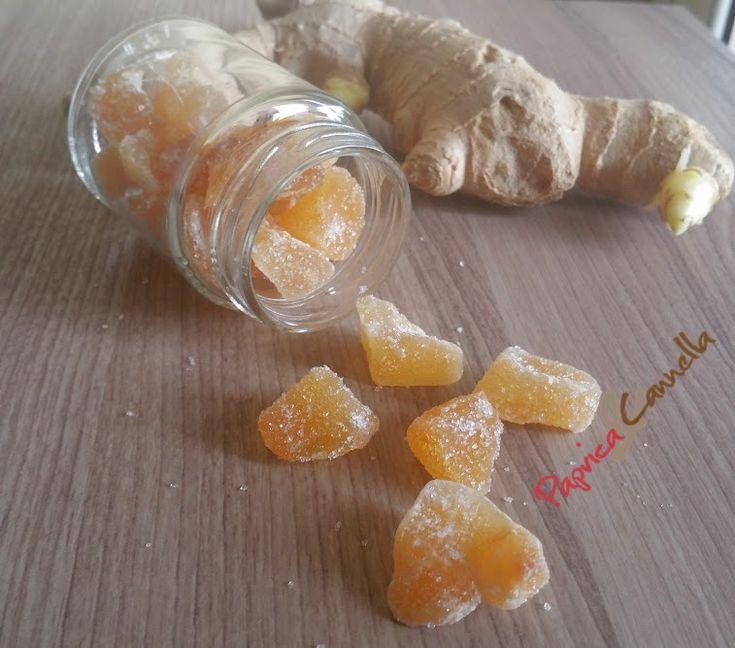 zenzero candito - paprica e cannella