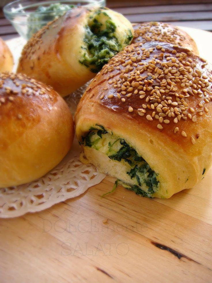 Quando un impasto perfetto (di Montersino) incontra un ripieno da sempre noto e gustosissimo si ottengono delle bontà salate di tutto r...