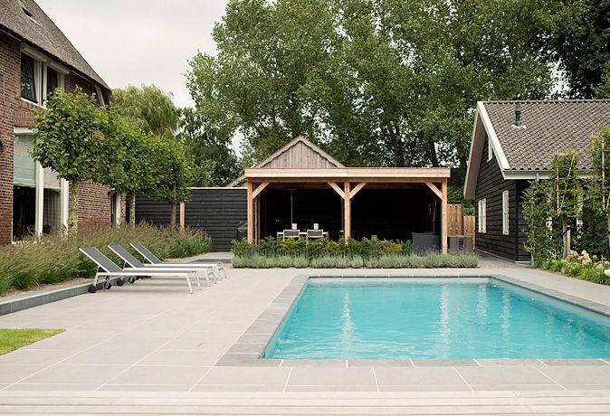 Tuinontwerp tuinaanleg for Zwembaden in tuin