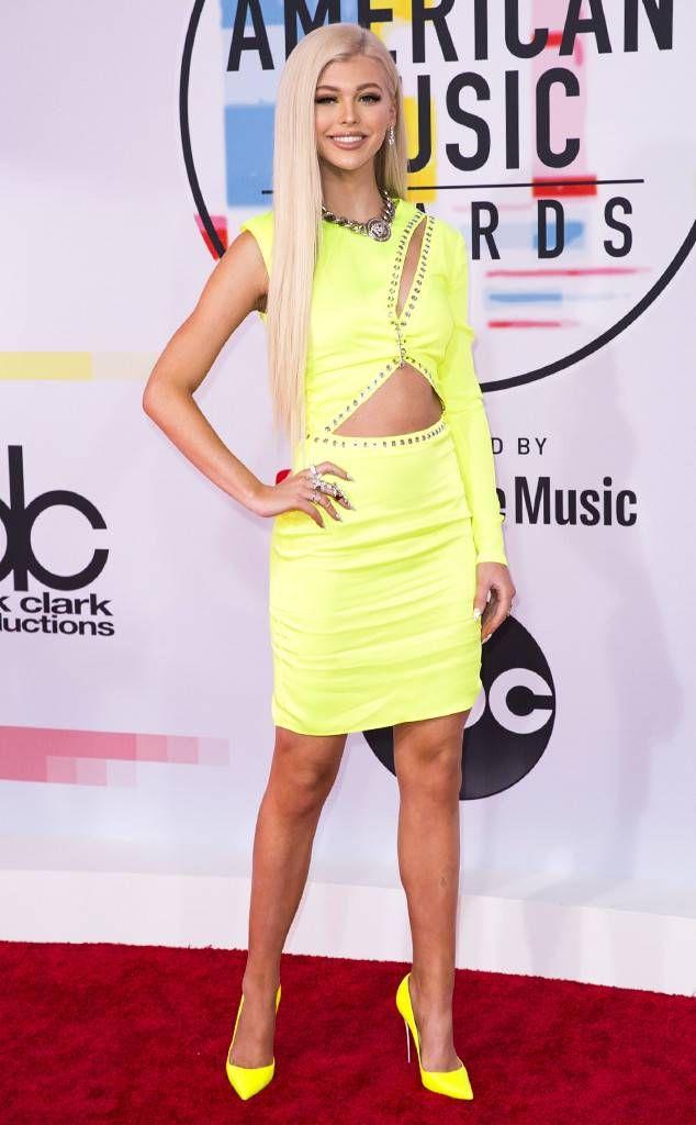 Loren Gray from 2018 American Music Awards Red Carpet Fashion