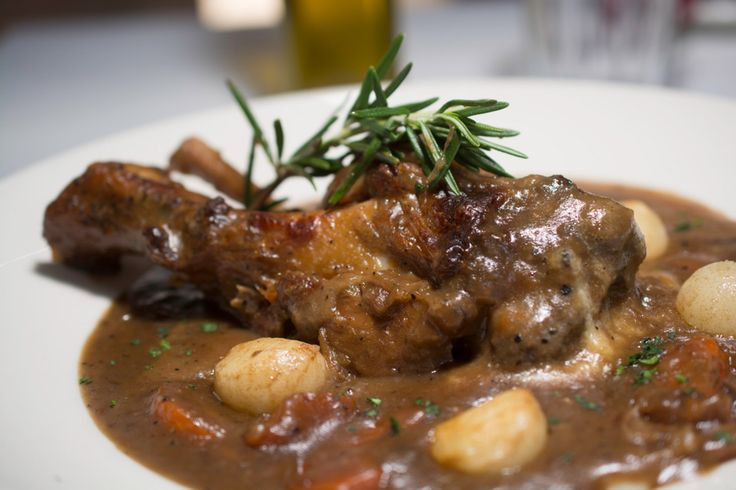 lamb shanks braised with mustard and mint beer braised pork shanks