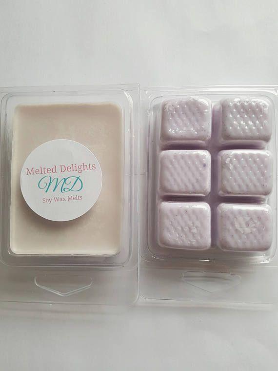 Lavender Wax Melts  https://www.etsy.com/uk/listing/513795564/lavender-wax-meltclamshellssoy-wax